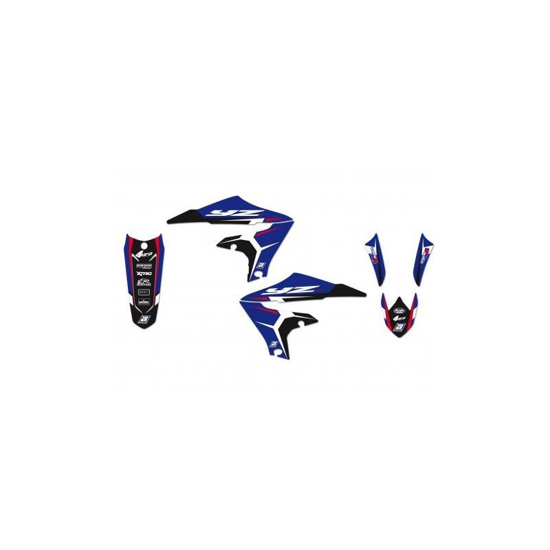 KIT ADESIVI BLACKBIRD GRAFICA DREAM 4 PER YAMAHA YZ 450 F 2018/2019