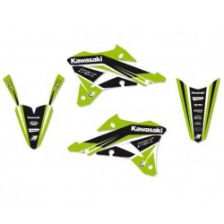 BLACKBIRD STICKERS KIT DREAM 4 GRAPHICS FOR KAWASAKI KX 85 2014/2019