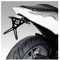 ALUMINUM BARRACUDA LICENSE PLATE HOLDER FOR HONDA INTEGRA 750 2014/2015