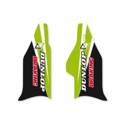 PAIR OF BLACKBIRD FORK STICKERS FOR KAWASAKI KX 250 F 2004/2005, KX 125/250 2004/2008