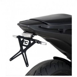 ALUMINUM BARRACUDA LICENSE PLATE SUPPORT FOR HONDA NC 700 S 2012/2013