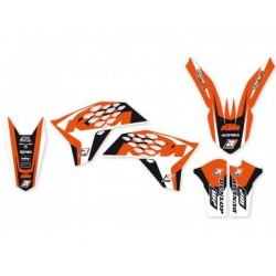 ADHESIVE KITS BLACKBIRD DESIGN DREAM 4 FOR KTM SX/SX-F 2007/2010 (ALL BUT MINICROSS), EXC 2008/2011