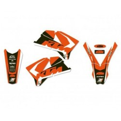 ADHESIVE KITS BLACKBIRD DESIGN DREAM 4 FOR KTM SX/SX-F 2005/2006 (ALL BUT MINICROSS), EXC 2005/2007