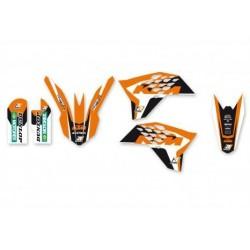 BLACKBIRD STICKERS KIT DREAM 4 GRAPHICS FOR KTM SX 65 2009/2015