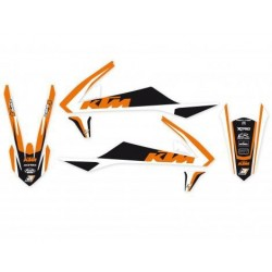 KIT ADESIVI BLACKBIRD GRAFICA DREAM 4 PER KTM SX 85 2018/2019