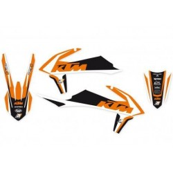 KIT ADESIVI BLACKBIRD GRAFICA DREAM 4 PER KTM SX/SX-F 2019 (NO MINICROSS)