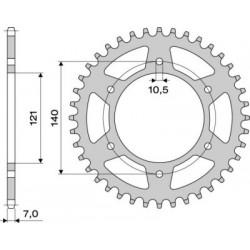 STEEL REAR SPROCKET FOR CHAIN 525 FOR CAGIVA RAPTOR 650 2000/2007