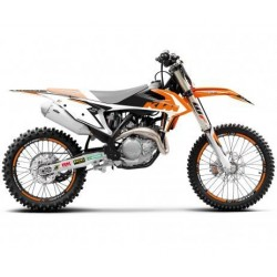 KIT ADESIVI + COPERTINA SELLA BLACKBIRD GRAFICA DREAM 4 PER KTM SX/SX-F 2019 (NO MINICROSS)
