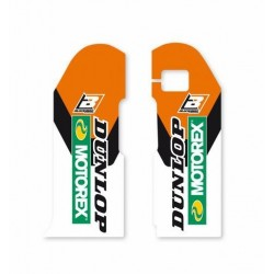 FORK PARASTELI STICKER PAIR BLACKBIRD FOR KTM SX/SX-F, EXC/EXC-F 2000/2007