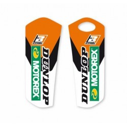 PAIR OF FORK PARASITIC STICKERS BLACKBIRD FOR KTM SX/SX-F 2015/2019, EXC 2016/2019