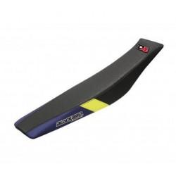 BLACKBIRD SEAT COVER GRAPHIC DREAM 4 FOR HUSQVARNA TE/TC 250/450/510 2005/2007 (YELLOW COLOR)