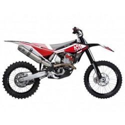 KIT ADESIVI + COPERTINA SELLA BLACKBIRD GRAFICA DREAM 4 PER HUSQVARNA TE/TC 499/511 2011/2013