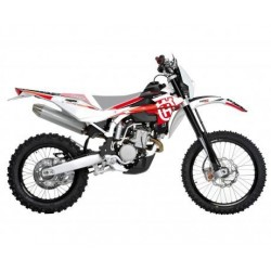 KIT ADESIVI + COPERTINA SELLA BLACKBIRD GRAFICA DREAM 4 PER HUSQVARNA CR/WR 125 2009/2013
