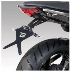 ALUMINUM BARRACUDA LICENSE PLATE HOLDER FOR KAWASAKI ER-6N 2012/2016