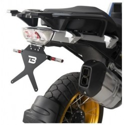 ALUMINUM BARRACUDA LICENSE PLATE SUPPORT FOR BMW R 1250 GS 2018/2020