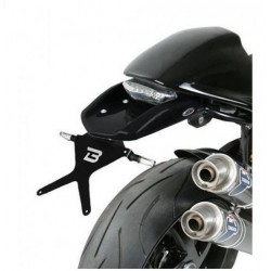 ALUMINUM BARRACUDA LICENSE PLATE SUPPORT FOR DUCATI MONSTER S2R 1000 2006/2008