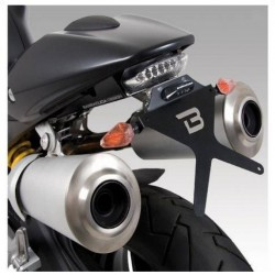 ALUMINUM BARRACUDA LICENSE PLATE SUPPORT FOR DUCATI MONSTER 696 2008/2011