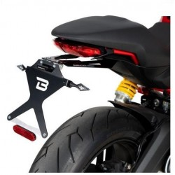ALUMINUM BARRACUDA LICENSE PLATE HOLDER FOR DUCATI MONSTER 797 2019/2020*