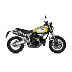 PAIR OF EXHAUST SYSTEMS MIVV GP PRO IN CARBON FOR DUCATI SCRAMBLER 1100 SPECIAL 2018/2019, APPROVED