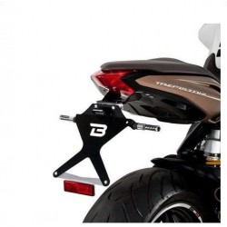 ALUMINUM BARRACUDA LICENSE PLATE HOLDER FOR MV AGUSTA BRUTALE 800 2014/2016 *