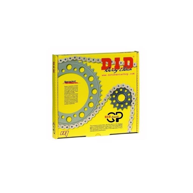 RACING TRANSMISSION KIT (RATIO 16/43) WITH CHAIN DID 520 ERV3 FOR SUZUKI GSX-R 600 2006/2010