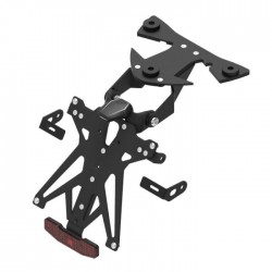 ADJUSTABLE LIGHTECH LICENSE PLATE SUPPORT FOR BMW HP4 2013/2014