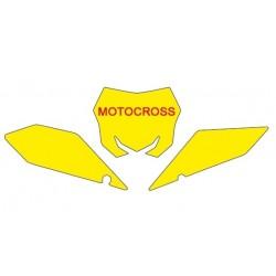 BLACKBIRD NUMBER STICKER KIT MOTOCROSS MODEL FOR SUZUKI RM-Z 250 2019