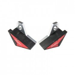PAIR OF LIGHTECH FRAME PROTECTION PADS FOR APRILIA RSV4 FACTORY APRC 2011/2012