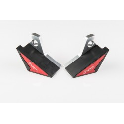 PAIR OF LIGHTECH FRAME PROTECTION PADS FOR APRILIA RSV4 R 2010/2012