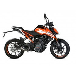 EXHAUST TERMINAL MIVV MK3 IN CARBON FOR KTM DUKE 125 2017/2020, NOT APPROVED