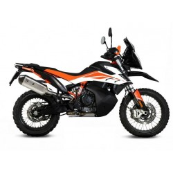 MIVV SPEED EDGE EXHAUST TERMINAL IN STEEL WITH CARBON CUP FOR KTM 790 ADVENTURE R 2019/2020, APPROVED