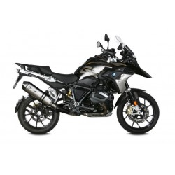 MIVV SPEED EDGE EXHAUST TERMINAL IN STEEL WITH CARBON CUP FOR BMW R 1250 GS ADVENTURE 2018/2020, APPROVED