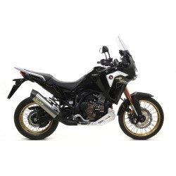 EXHAUST TERMINAL ARROW MAXI RACE-TECH IN TITANIUM CARBON BACK FOR HONDA AFRICA TWIN 1100 L 2020, APPROVED