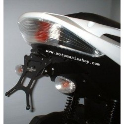 ADJUSTABLE ALUMINUM LICENSE PLATE HOLDER FOR GILERA NEXUS 250 2006/2008