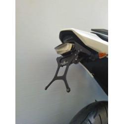 ADJUSTABLE ALUMINUM LICENSE PLATE HOLDER FOR HONDA NC 700 S/X 2012/2013