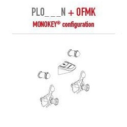 KIT ATTACHMENTS TO FIX GIVI MONOKEY SUITCASES ON PL ONE-FIT SIDE CASE