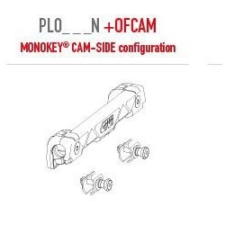 KIT ATTACKS TO FIX GIVI MONOKEY CAM-SIDE SUITCASES ON PL ONE-FIT SIDE-HOLDER