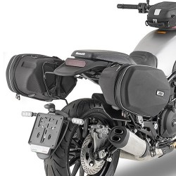 FRAME GIVI TE8704 FOR SOFT SIDE BAGS AND EASYLOCK SUITCASES FOR 500 LION BENELLI 2018/2020