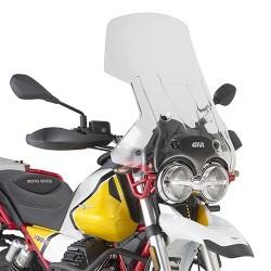 WINDSHIELD GIVI FOR MOTO GUZZI V85 TT 2019/2020, TRANSPARENT