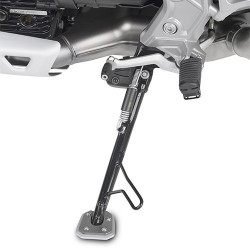 GIVI ALUMINUM BASE WITH INCREASED SURFACE FOR ORIGINAL MOTO GUZZI V85 TT 2019/2020 STAND