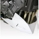 AEROSPORT BARRACUDA ENGINE TOE CAP FOR YAMAHA FZ1 2006/2015, SILVER