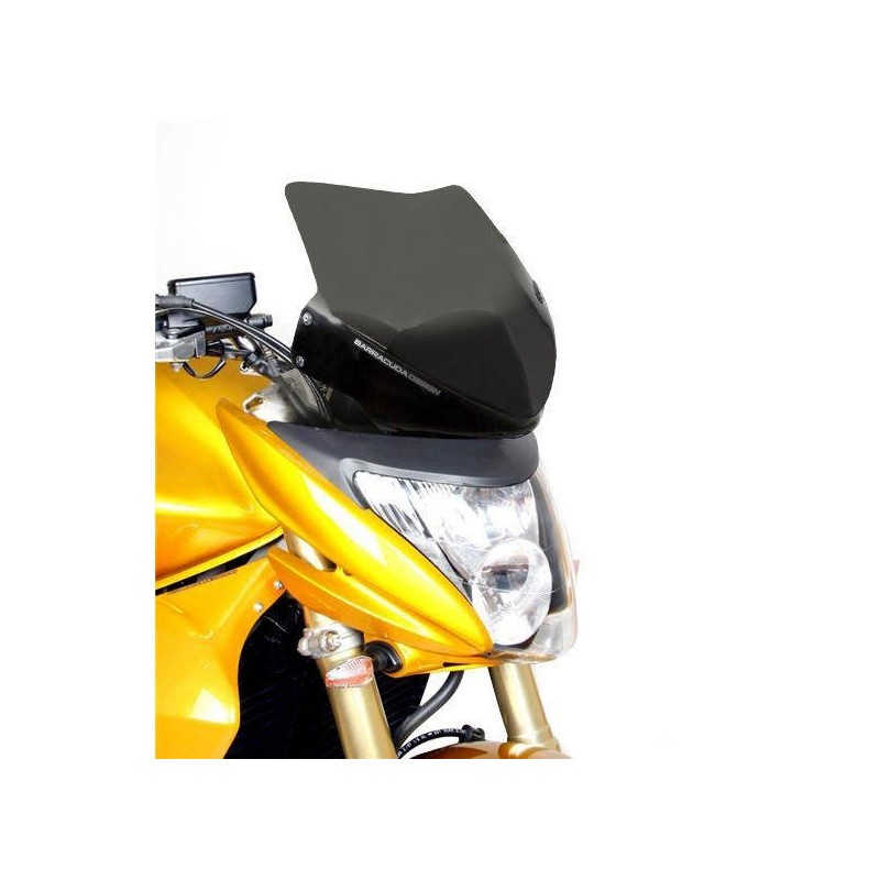 WINDSHIELD BARRACUDA AEROSPORT FOR HONDA HORNET 600 2007/2010, DARK SMOKE