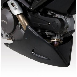 AEROSPORT BARRACUDA TOE CAP IN ABS FOR DUCATI MONSTER 696 2008/2011, MONSTER 796 2010/2013 (matt black to be painted)