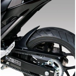 BARRACUDA REAR FENDER IN BLACK ABS WITH CHAIN GUARD FOR HONDA NC 700 X 2012/2013, NC 700 S 2012/2013