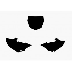 NUMBER-CARRYING ADHESIVE KIT BLACKBIRD MOTOCROSS MODEL FOR YAMAHA YZ 125/250 2015/2019