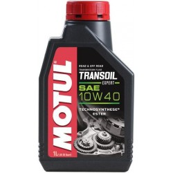 OIL EXCHANGE MOTUL TRANSOIL EXPERT 10W40