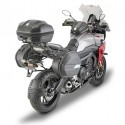 PAIR OF SEMI-RIGID SIDE BAGS GIVI WL900 WEIGHTLESS CAPACITY 25 LITERS