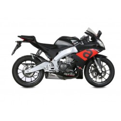 EXHAUST TERMINAL MIVV DELTA RACE STEEL STAINLESS CARBON BACK FOR APRILIA RS 125 2017/2020, APPROVED