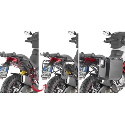 GIVI PLOR7412CAM FRAME FOR MONOKEY CAM-SIDE SIDE CASES FOR DUCATI MULTISTRADA 950 S 2019/2020