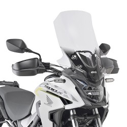 WINDSHIELD GIVI FOR HONDA CB 500 X 2019/2020, TRANSPARENT